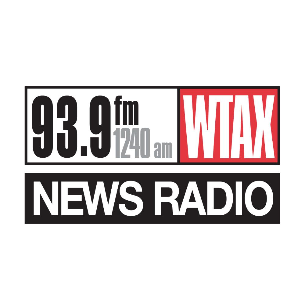 News Radio 93.9FM/1240AM WTAX Logo