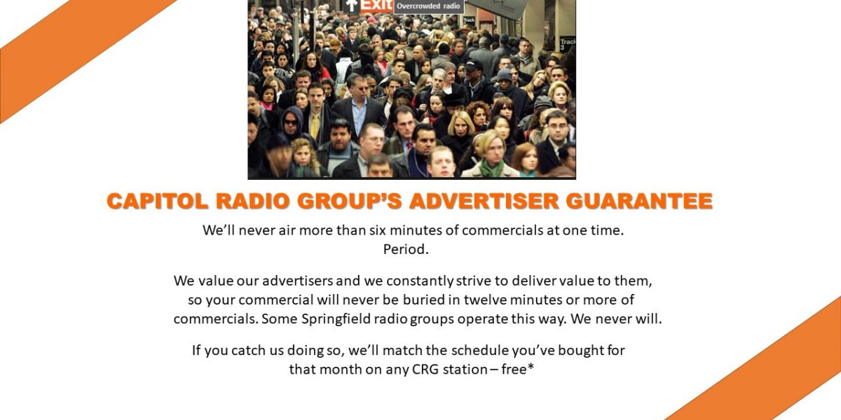 Capitol Radio Group's Advertiser Guarantee